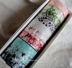 woodland Japanese paper tape