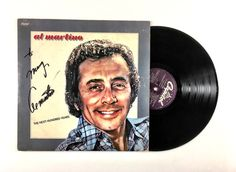 Al Martino – The Next Hundred Years  Label: Capitol Records – ST-11741 Format: Vinyl, LP, Album Country: US Released: 1978 Genre: Jazz Style: Easy Listening  Tracklist:  A1 The Next Hundred Years A2 One Last Time A3 Leaving Game A4 Here I Go Again A5 After The Lovin B1 Only A Dream Away B2 Kentucky Mornin B3 Cant Get Over You B4 Sweet Majorene B5 A Song For Lovers  Condition:  Visually graded. SIGNED COPY! The cover has some ring wear and wear and chipping along the edges and corners and…