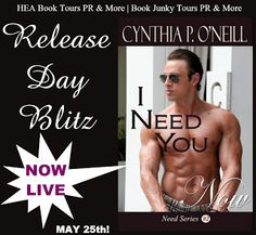 I Heart YA Books: Release Day Blitz and Excerpt for 'I Need You Now ...
