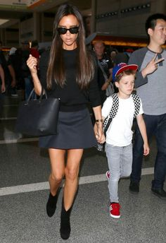 Victoria Beckham LAX Airport May 31 2014
