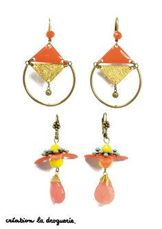 Des BO acidulées pour un été coloré !! #ladroguerie #bijoux #bo
