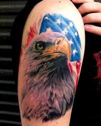 american flag eagle tattoos - Google Search