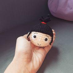 Lil'Agnes #miniondolls#dollstagram #doll #handmadedolls #handcraft #handmade #amigurumi #amigurumidolls by crochet_like