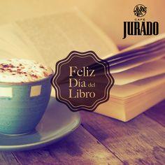 Un #MomentoJurado  perfecto para terminar el día sería estar a solas con un café y un buena historia. Féliz #DíadelLibro.
