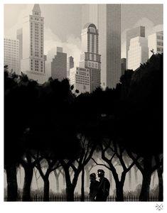 Illustration Inspiration #city #shadow