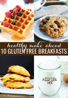 Back-To-School Gluten Free Breakfasts
