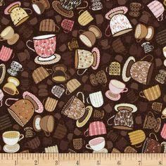 Tiana Small Tea Cups Brown