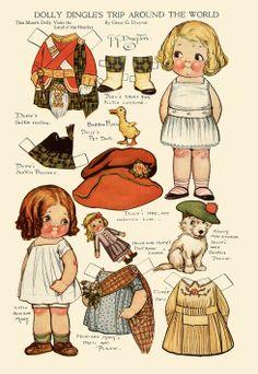 1917 Dolly Dingle Paper Dolls