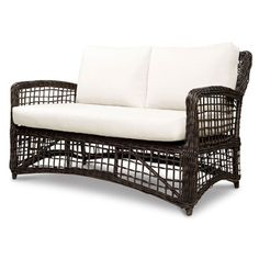 @Overstock - This beautiful outdoor loveseat features an elegant espresso weave finish. This piece is made of weather-resistant materials and features removable cushion covers.http://www.overstock.com/Home-Garden/Source-Outdoor-Kensington-Outdoor-Loveseat/7652953/product.html?CID=214117 $727.99