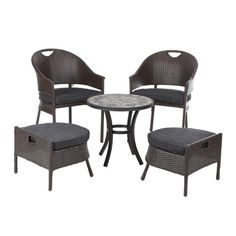 Found it at Wayfair - Campeche 5 Piece Dining Set with cushions
