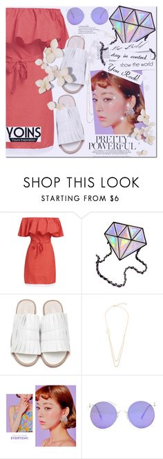 """No 487:Pretty Powerful (YOINS) (3)"" by lovepastel ❤ liked on Polyvore featuring chuu, yoins, yoinscollection and loveyoins"