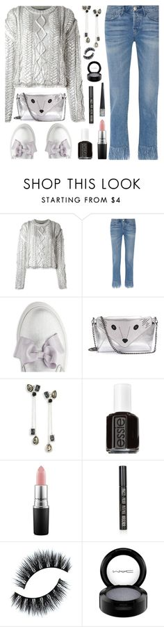 """Comfort & Shine"" by deborah-calton ❤ liked on Polyvore featuring Filles à papa, 3x1, Ippolita, Essie, MAC Cosmetics and Topshop"