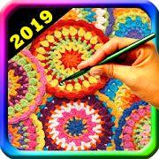 virkkaa kuviot vapaasti - virkkaa askel askeleelta – Google Play ‑sovellukset Google Play, App, Blanket, Detail, Crochet, Apps, Ganchillo, Blankets, Cover