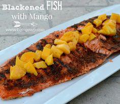 Blackened Fish with Mango {Recipe} Recipe on Yummly