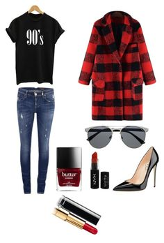 """""""grunge low cost"""" by mamen-serrano on Polyvore featuring ONLY and NYX"""