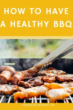 How to have a Healthy BBQ. Slimming World Recipe Ideas #healthy #slimmingworld #bbq