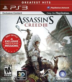 Amazon.com: Assassin's Creed III: Playstation 3: Video Games