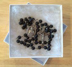Handmade Catholic Rosary: Sacred Heart by HandmadeCatholicShop