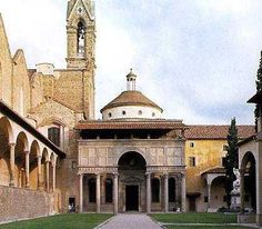 The Capella dei Pazzi in Florence is an early Renaissance church built by Filippo for the powerful Pazzi family. It is considered to be a masterpiece of Renaissance architecture.