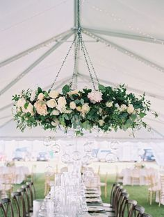 29 Gorgeous Wedding Floral Chandeliers That Will Blow Your Mind ...