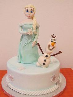 #Elsa con #Olaf con il #cake design in #pdz