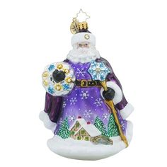 Christopher Radko Night Star Nicholas Santa Claus Christmas Ornament ** Learn more by visiting the image link. (This is an affiliate link) Purple Christmas Ornaments, Classic Christmas Decorations, Santa Ornaments, Glass Ornaments, Holiday Ideas, Christmas Ideas, Christopher Radko Ornaments, Star Wars, Stars At Night