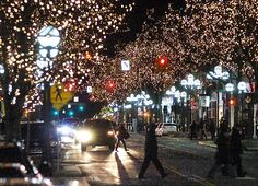 Winter in Downtown Ann Arbor. LOVE. Home is where the heart it...can't wait to go back