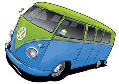 Vw Bus By Stxd S image - vector clip art online, royalty free & public . Kombi Trailer, Hippie Party, Volkswagen Bus, Indie Music, Online Art, Free Images, Van, Clip Art, Vehicles
