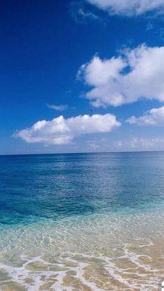 - wednesday - Ondas e Praia Sea And Ocean, Ocean Beach, Ocean Waves, Ocean Photography, Landscape Photography, Image Nature, Photos Voyages, Tropical Beaches, Beach Scenes