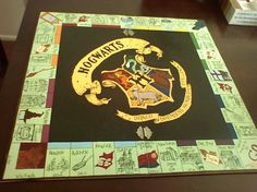 harrypotteropoly 930x697 14 Awesome Homemade Board Games                                                                                                                                                                                 More