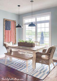 Charmant 4th Of July Decor. Framed American FlagAmerican ...