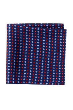 Genuine Jaguar F Type Silk Pocket Square Handkerchief Blue 100/% Italian Silk