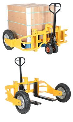 Hand Trucks R Us - Heavy-Duty All-Terrain Pallet Truck — 2,500 Lbs. Uniform Capacity | $1,400.95