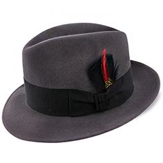 0bae354be7780 Stetson Frederick Wool Felt Fedora Hat - TWFRDK