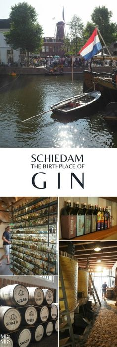 Find out the origins of gin - here in Schiedam, the Netherlands