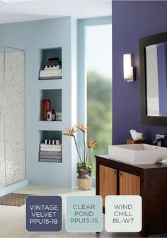 Find Color Inspiration When Planning Bathroom Remodeling With Behr S Interior Gallery Paint