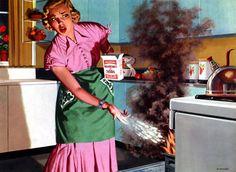 vintage housewife | Finde de ama de casa / Housewife Weekend