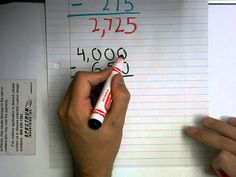 Subtraction With Regrouping Across Multiple Zeroes