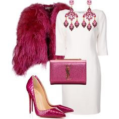 A fashion look from November 2014 featuring Blumarine dresses, Emilio Pucci coats and Christian Louboutin pumps. Browse and shop related looks. Stiletto Pumps, Louboutin Pumps, Christian Louboutin, Emilio Pucci, Fashion Inspiration, November, Dresses With Sleeves, Fashion Looks, Coats