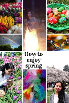 How to enjoy spring