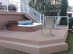 Hot Tub Decks Design, Pictures, Remodel, Decor and Ideas - page 2
