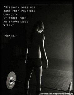 CrossFit Motivation |  CrossFit is for bad-ass chicks!  http://factumutah.com/crossfit