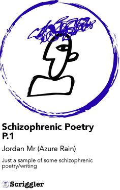 Schizophrenic Poetry P.1 by Jordan Mr (Azure Rain) https://scriggler.com/detailPost/poetry/27610