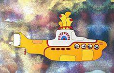 art yellow submarine - Peter Max