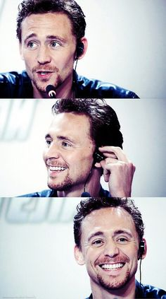 There is no angle from which an unattractive picture of Hiddleston is possible. That's just science.