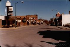 Downtown Mayville, North Dakota in 1977  Adolph Soderburg died in Mayville, ND in 1962