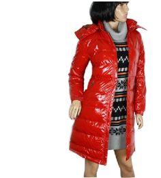 bundy Moncler s dlouhými rukávy, slevové boty Moncler Long Down Coats Red, repliky moncler dámské bundy Bezkonkurenční nabídky
