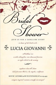 Bridal Shower Flourish Pattern Invites By WeddingpaperieCom