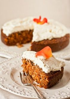 Carrot cake from Isaac Correa B Food, Good Food, Yummy Food, Cooking Time, Cooking Recipes, Cooking Cookies, Sweet Pastries, Russian Recipes, Saveur