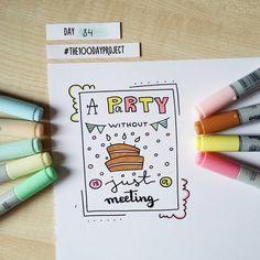 #100daysofdooodles2 #100dayproject #100daysproject #doodle #drawing #doodleadayjune #apartywithoutcakeisjustameeting #cake #party #art #instaart #lettering #inspiration #рисунок #творчество #вдохновение #тортик